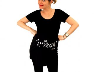Walking Dead Lil' A** Kicker Maternity Top