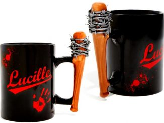 Walking Dead Lucille Bat Coffee Mug