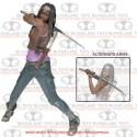 Walking Dead Michonne 10-Inch Deluxe Action Figure