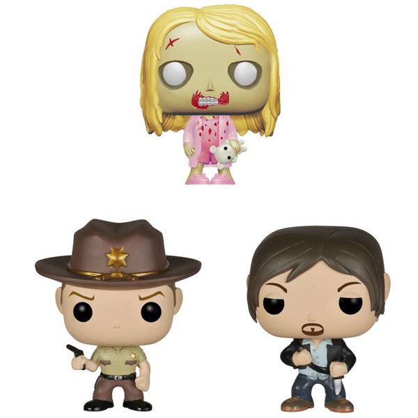 Walking Dead Pocket Pop 3-Pack Tin