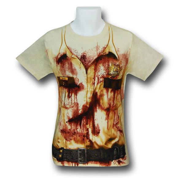 Walking Dead Rick Grimes Costume TShirt