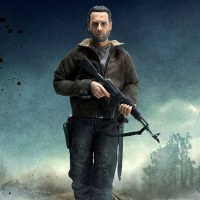 Walking Dead Rick Grimes Sixth-Scale Figure small