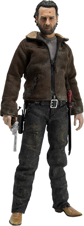 Walking Dead Rick Grimes Sixth-Scale Figure