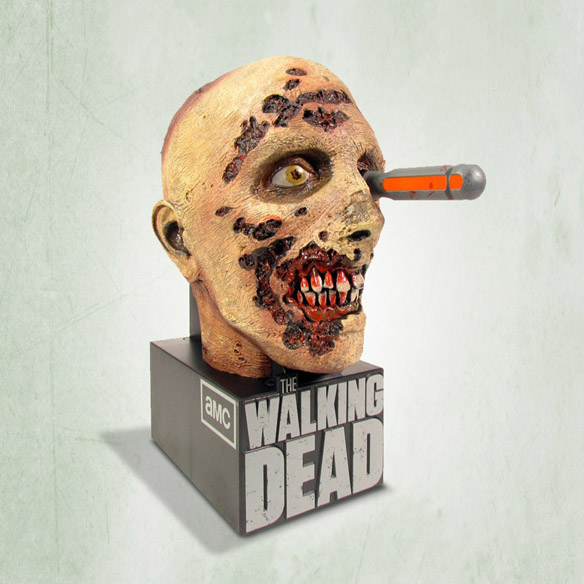 Walking Dead Screwdriver Zombie Head Season 2 Limited Edition Blu-ray Box Set