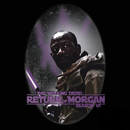 Walking Dead Season 6 Return of Morgan Shirt