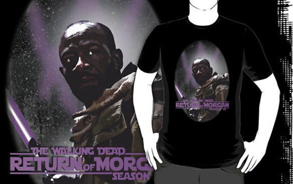 Walking Dead Season 6 Return of Morgan T-Shirt