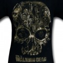 Walking Dead Skull Shirt