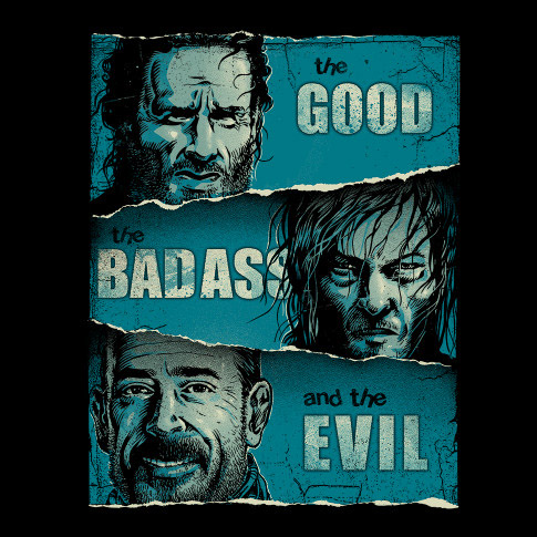 walking-dead-the-good-the-badass-and-the-evil-shirt