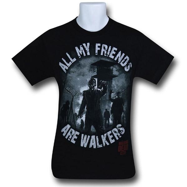 Walking Dead Walker Friends T-Shirt