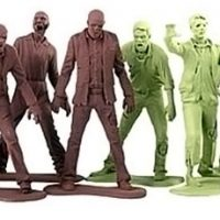 The Walking Dead Zombie Army Men
