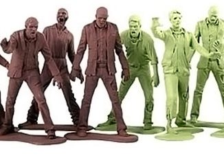 The Walking Dead Zombie Army Men