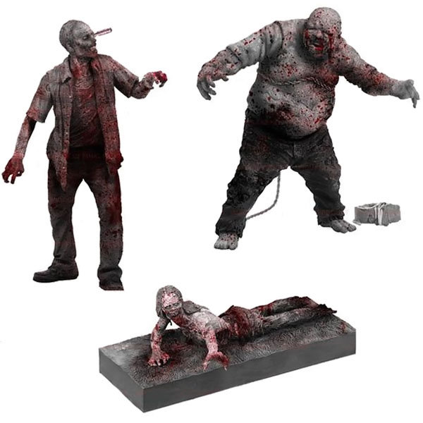 Walking Dead Zombie Figures