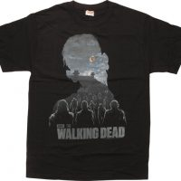 Walking Dead Zombie Silhouette Walkers T-Shirt
