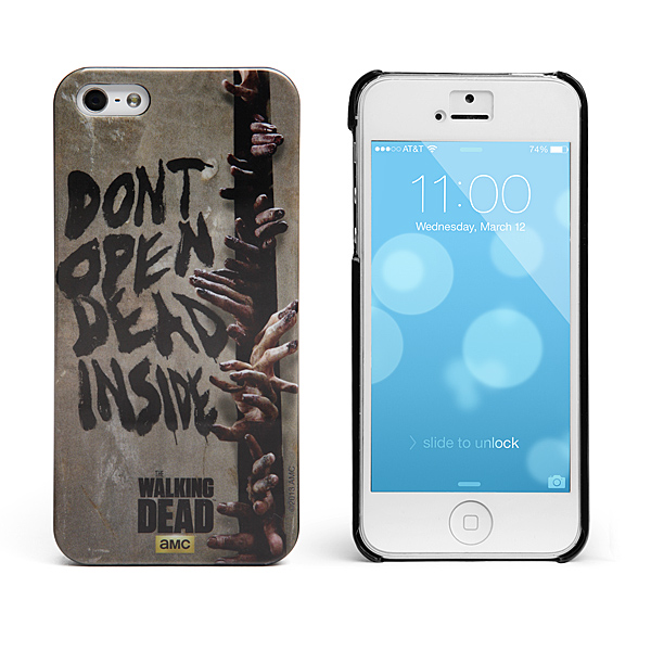 Cases will deck out your phone in Walking Dead style, so your phone ...