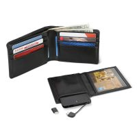 Wallet With Phone Charger