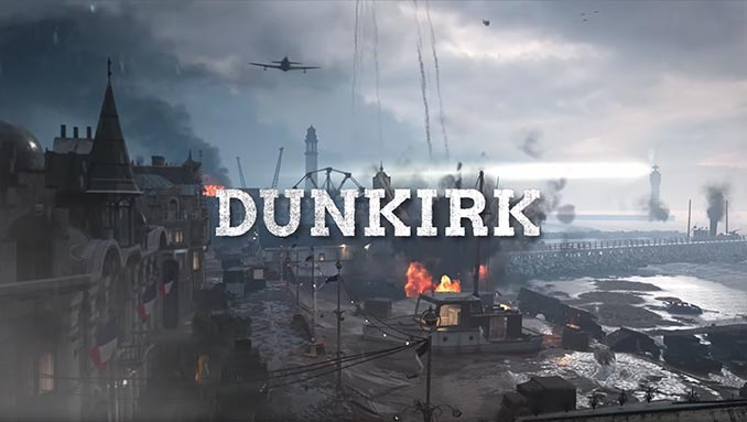 War Machine DLC Dunkirk Map