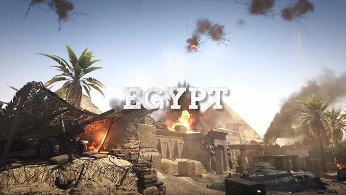 War Machine DLC Egypt Map