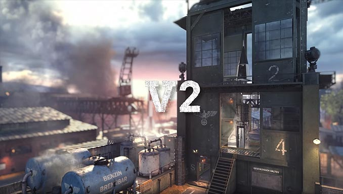 War Machine DLC V2 Map