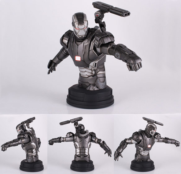 War Machine Mini Bust