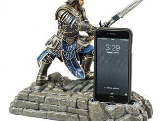 Warcraft Lothar Figural Phone Dock