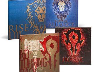 Warcraft Movie Wrapped Canvas Art Set