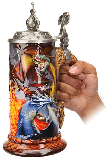 Warcraft Stoneware Stein
