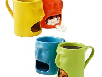 Warm or Cool Face Mugs Set