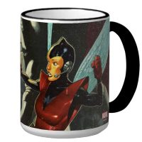 Wasp versus Ultron Coffee Mug 1