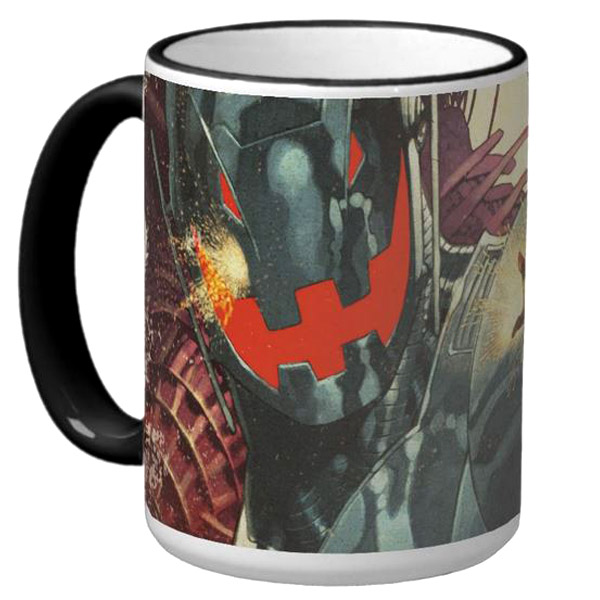 Wasp versus Ultron Coffee Mug 3