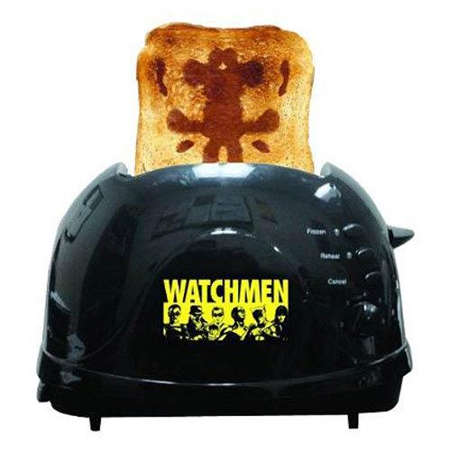 Watchmen Rorschach Toaster