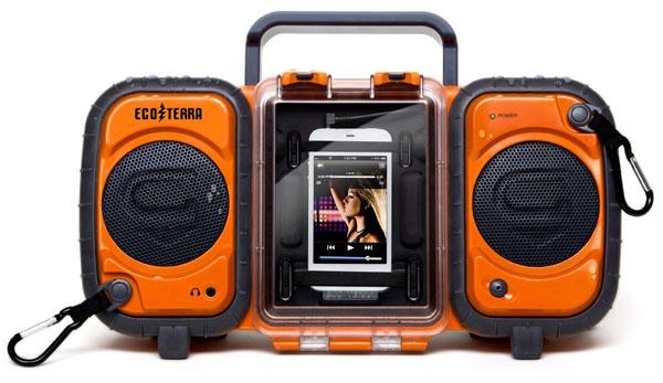 Waterproof Eco Terra Boombox for Smartphone