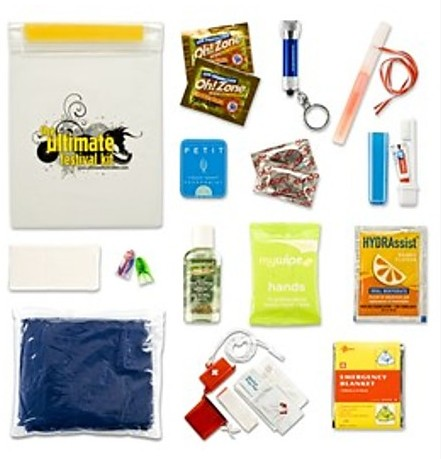 Waterproof Festival Survival Kit