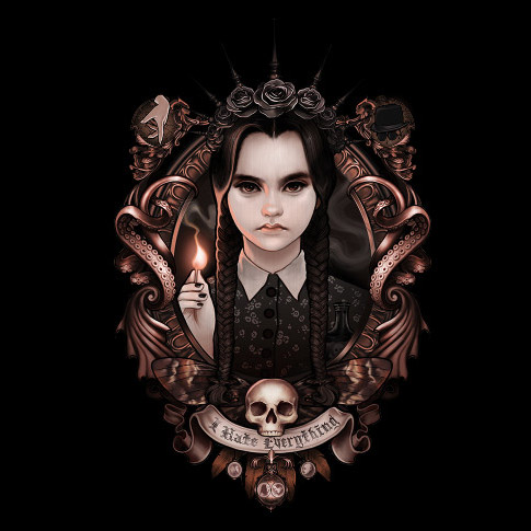 wednesday-addams-i-hate-everything-shirt