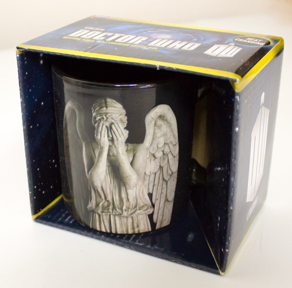 Weeping Angel Heat-Changing Doctor Who Mug
