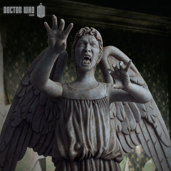 Weeping Angel Limited Edition Polystone Figurine 584