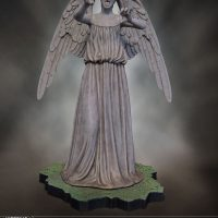 Weeping Angel Limited Edition Polystone Figurine Alternate Head