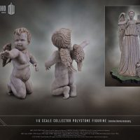 Weeping Angel Limited Edition Polystone Figurine Cherub