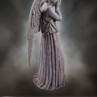 Weeping Angel Limited Edition Polystone Figurine Profile