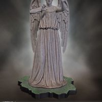 Weeping Angel Limited Edition Polystone Figurine Reaching