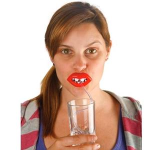 Weird Lips Sippin Straws