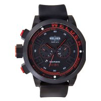 Welder K31 2602 Black Red Chronograph