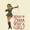 What if Zelda was a Girl Shirt