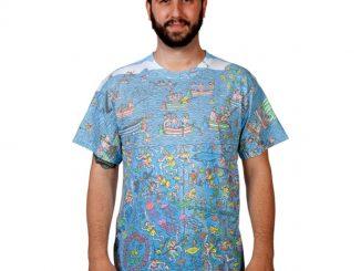 Where's Waldo Sublimation T-Shirt
