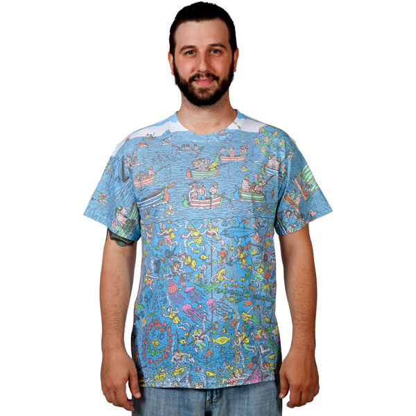 Where's Waldo Sublimation T-Shirt