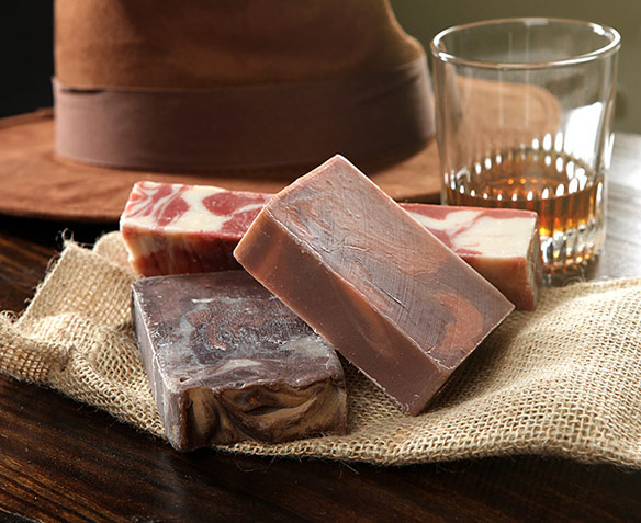 Whiskey and Coffee Soap