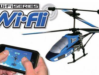 Wi-Fli Wi-Fi Helicopter