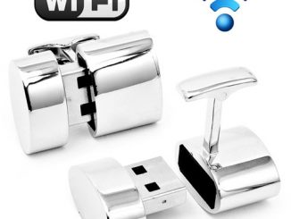 WiFi Hotspot and 2GB USB Combination Cufflinks