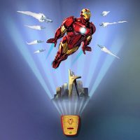 Wild Walls Full Power Aerial Pursuit Iron Man Wall Decal