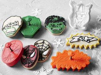 Williams Sonoma Marvel Cookie Cutters