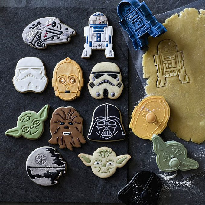 Williams Sonoma Star Wars 8-Piece Cookie Cutter Set